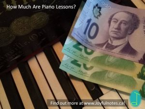 How much are piano lessons?