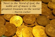 Music quote by Luther